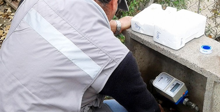 Medidores instalados en Comité APR San José de Cunaco