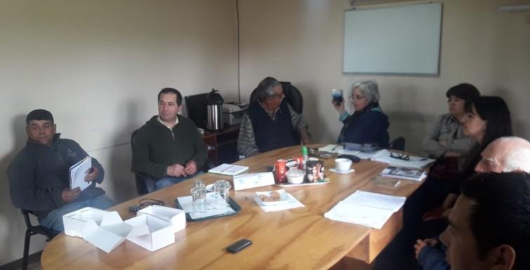Reunión con Comité APR San Antonio – Linares