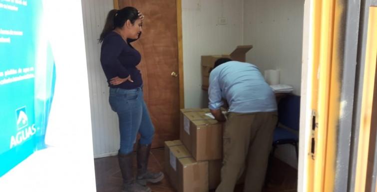 Entrega de Medidores Inteligentes, APR Las Canteras – Colina