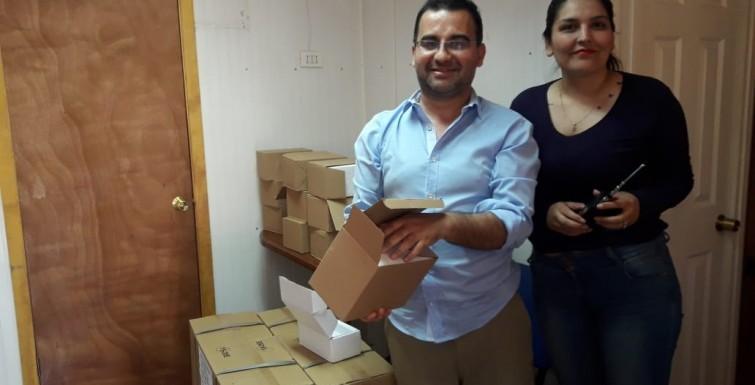 Entrega de Medidores en Comité APR «Las Canteras», de Colina