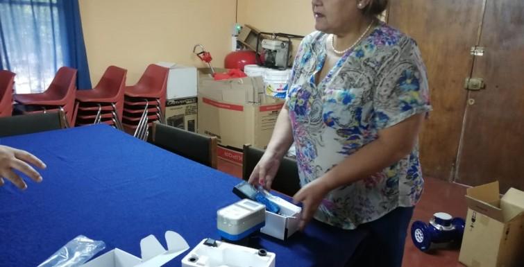 Entrega de Medidores Inteligentes a «Comite de APR Isla del Guindo-Chomedahue»