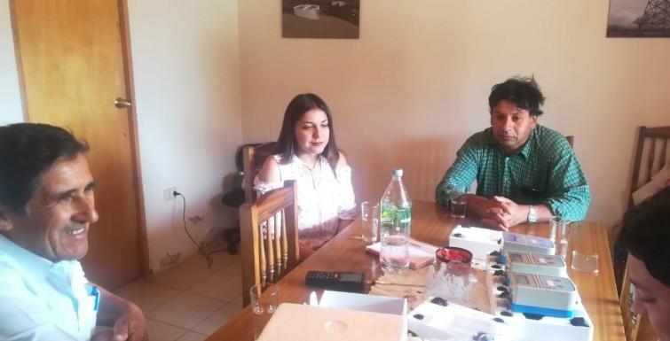 Entrega de medidores inteligentes a «Comite de APR San Antonio – El Cuadro de Chepica».