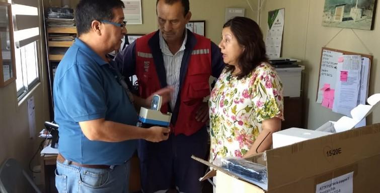 Entrega de Medidores Inteligentes a «Comité APR Quilapilun de Til Til».