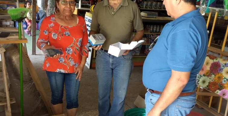 Entrega de Medidores Inteligentes a «Comité APR Santa Matilde».