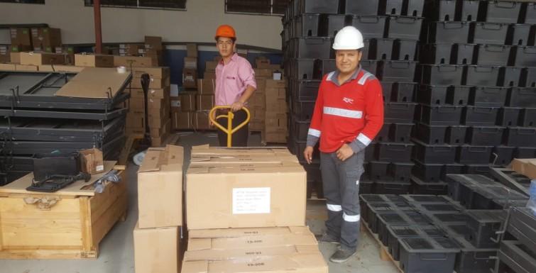 Entrega de Primer Embarque de Medidores Inteligentes en Empresa Interagua – Ecuador