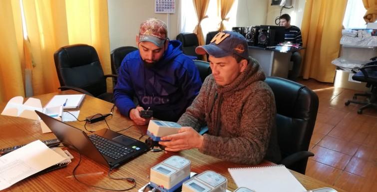Capacitación Medidor Inteligente a Cooperativa de Agua Potable Rural de Tinguiririca