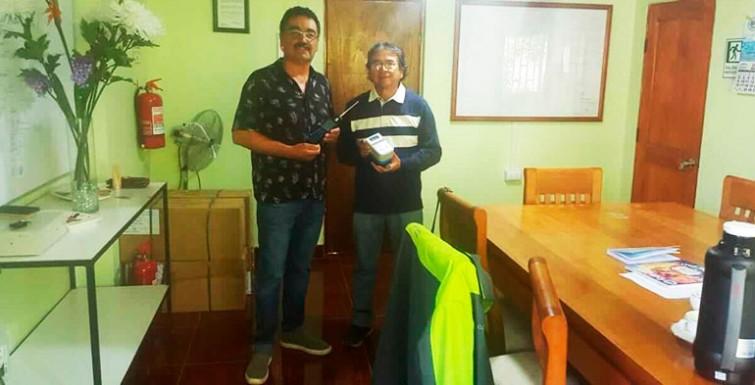 Entrega de Medidores en Comité APR Olivar Bajo