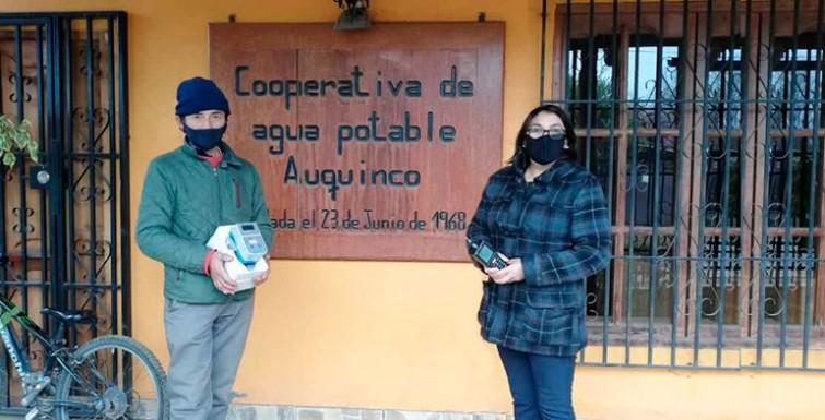 Capacitación en Cooperativa APR «Auquinco», VI Región