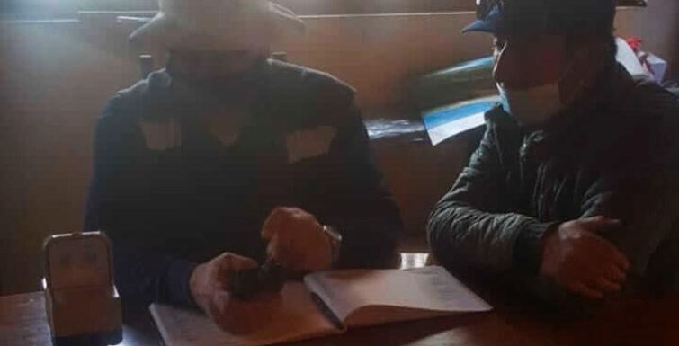 Entrega de Medidores en Cooperativa APR «Auquinco»