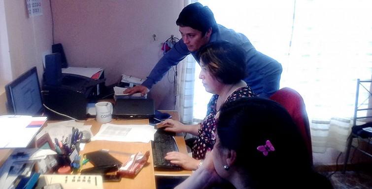 Capacitación uso de Hand Held – Comité APR: Roma Arriba – La Marinana