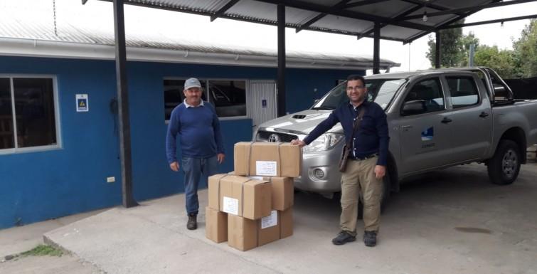 Entrega de Medidores Inteligentes, Cooperativa de San José de Cunaco