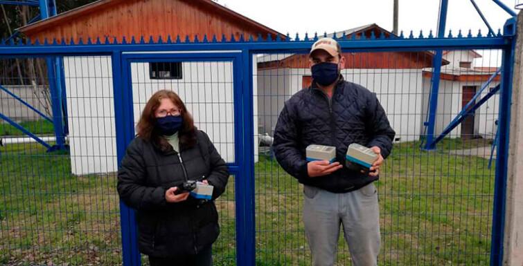 Entrega de Medidores en Cooperativa APR Tinguiririca