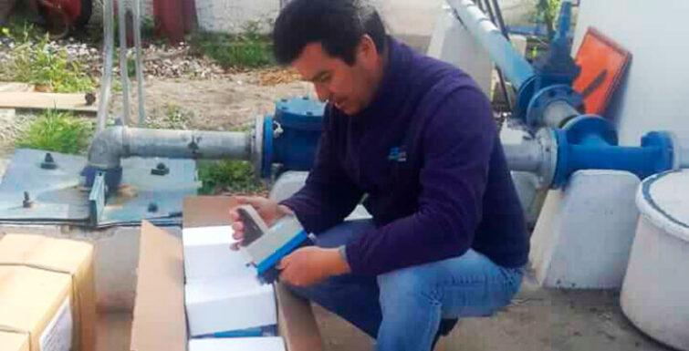 Entrega de Medidores Inteligentes en Comité APR El Huique