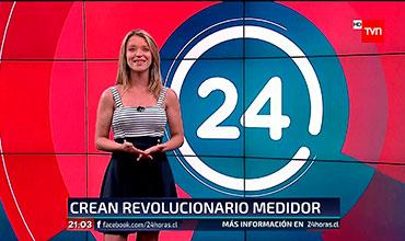 Noticiero Central - 24 Horas - TVN - Medidor Inteligente de Agua Potable