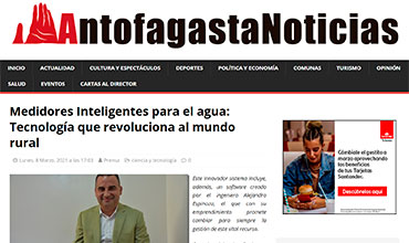 Antofagasta Noticias - Medidor Inteligente de Agua Potable