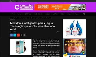 Chillán Online - Medidor Inteligente de Agua Potable