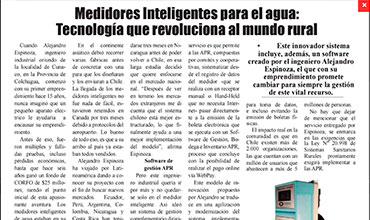 El Heraldo - Medidor Inteligente de Agua Potable