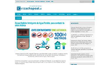 El Cachapoal - Medidor Inteligente de Agua Potable