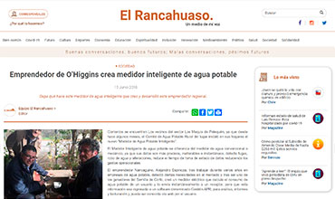 El Rancahuaso - Medidor Inteligente de Agua Potable