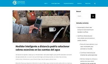 Innova Difusión - Medidor Inteligente de Agua Potable