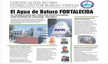 """readmetro.com """"Medidores Inteligentes, nueva Tecnología"""". El Agua de Batuco Fortalecida."""