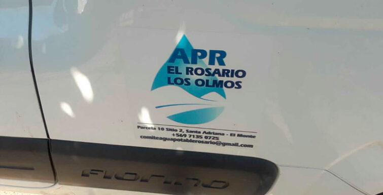 Entrega en Comité APR «El Rosario – Los Olmos», Región Metropolitana