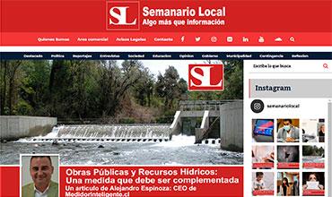 Semanario Local - MOP y Recursos Hídricos: Una medida que debe ser complementada.