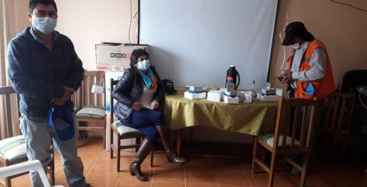 Entrega de nuestras 3 soluciones en la localidad de Tamaya